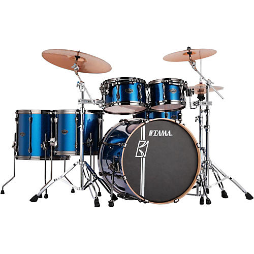 Tama Superstar Hyper-Drive Maple 6-Piece Shell Pack Indigo Sparkle-thumbnail