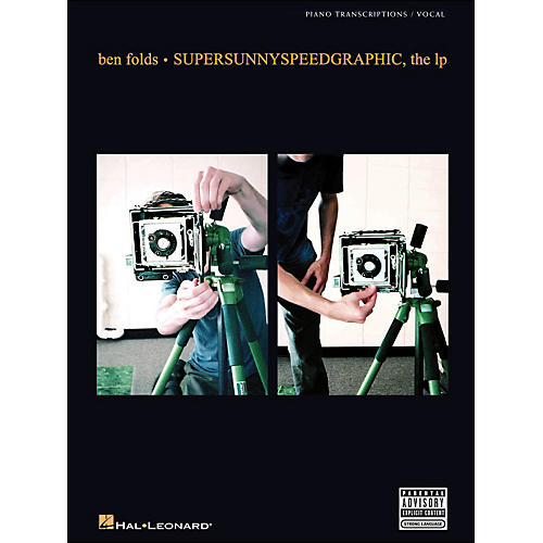 Hal Leonard Supersunnyspeedgraphic, The Lp Ben Folds arranged for piano, vocal, and guitar (P/V/G)