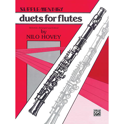 Alfred Supplementary Duets for Flutes-thumbnail