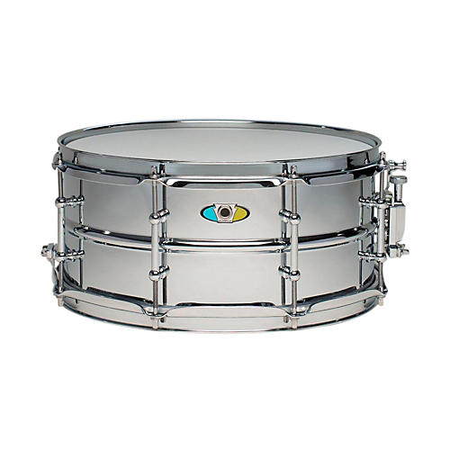 ludwig supralite steel snare drum 13 x 6 in guitar center. Black Bedroom Furniture Sets. Home Design Ideas