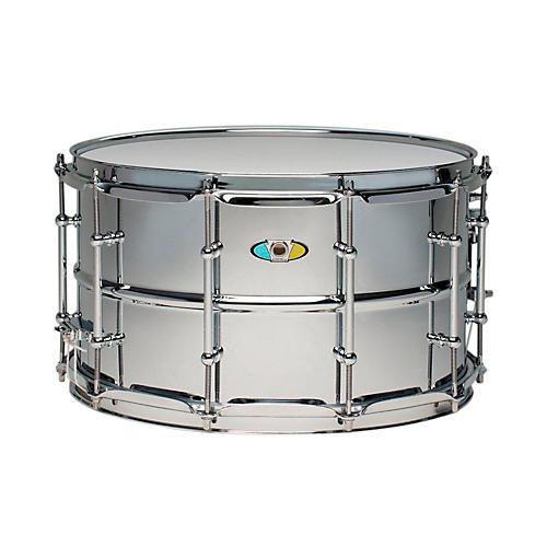 Ludwig Supralite Steel Snare Drum-thumbnail