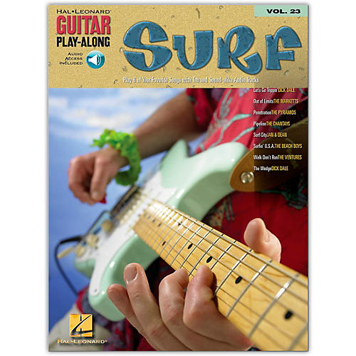 Hal Leonard Surf Guitar Play-Along Series Volume 23 (Book/Online Audio)-thumbnail