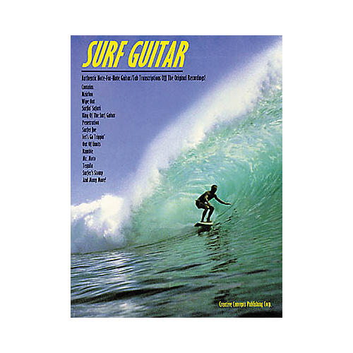 Creative Concepts Surf Guitar Tab Songbook-thumbnail