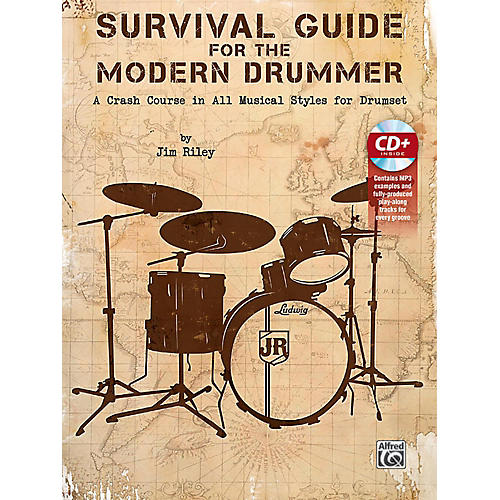 Alfred Survival Guide for the Modern Drummer Book & CD-thumbnail