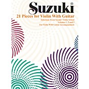 Alfred Suzuki 21 Pieces for Violin with Guitar (Book)