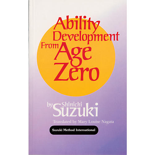 Alfred Suzuki Ability Development from Age Zero (Book)-thumbnail