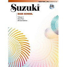 Suzuki Suzuki Bass School Book & CD Volume 1 (Revised)