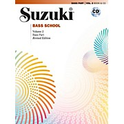 Suzuki Suzuki Bass School Book & CD Volume 2 (Revised)