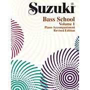 Alfred Suzuki Bass School Piano Accompaniments
