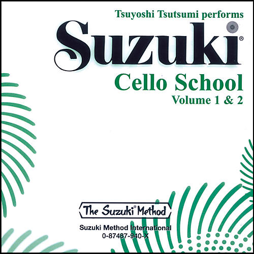 Alfred Suzuki Cello School CD, Volume 1 & 2-thumbnail