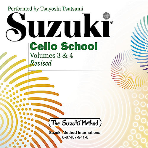 Alfred Suzuki Cello School CD, Volume 3 & 4-thumbnail