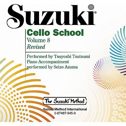 Alfred Suzuki Cello School CD, Volume 8