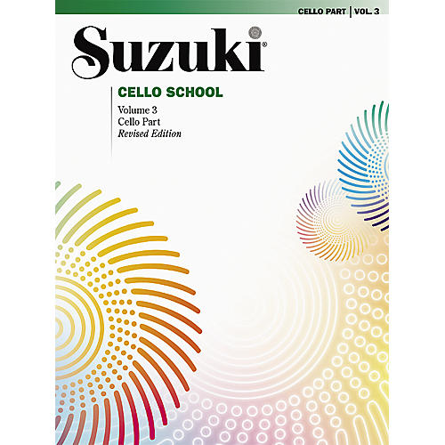 Alfred Suzuki Cello School Cello Part, Volume 3 Book-thumbnail