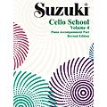 Alfred Suzuki Cello School Piano Accompaniment Vol 4 (Book)-thumbnail