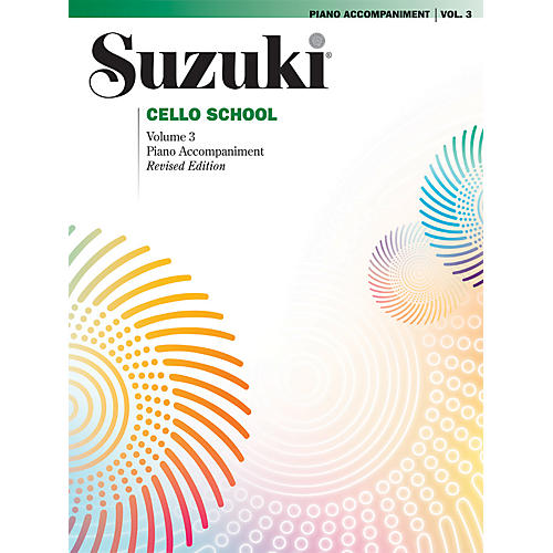 Alfred Suzuki Cello School Piano Accompaniment Volume 3 Book