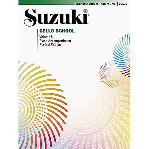 Alfred Suzuki Cello School Piano Accompaniment Volume 5