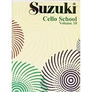 Alfred Suzuki Cello School Volume 10 (Book)
