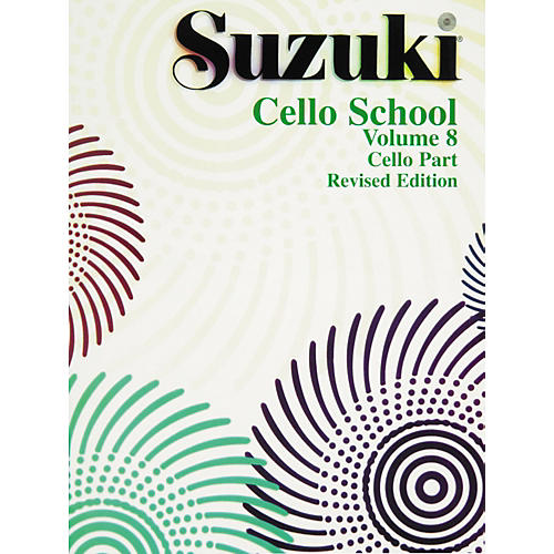 Alfred Suzuki Cello School Volume 8 (Book)-thumbnail