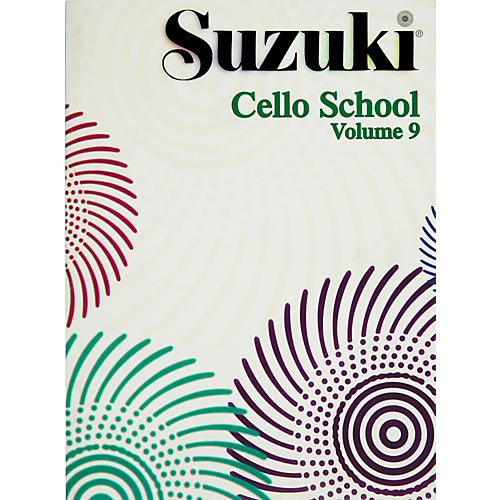 Alfred Suzuki Cello School Volume 9 (Book)