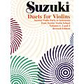 Alfred Suzuki Duets for Violins  Thumbnail