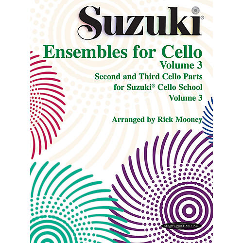 Alfred Suzuki Ensembles for Cello Volume 3 (Book)
