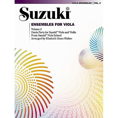 Alfred Suzuki Ensembles for Viola Volume 2