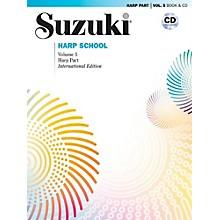 Suzuki Suzuki Harp School, Volume 5 Book & CD