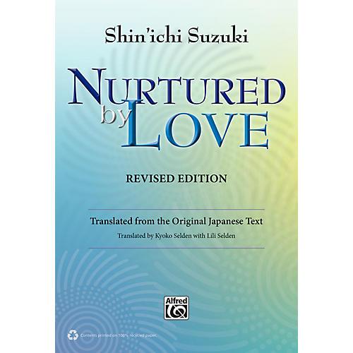 Alfred Suzuki Nurtured by Love Revised Edition Book-thumbnail
