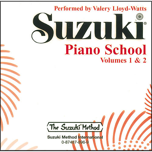 Suzuki Suzuki Piano School CD Volume 1 & 2-thumbnail