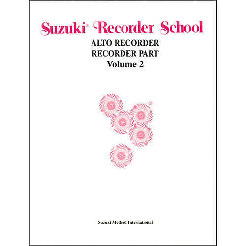 Alfred Suzuki Recorder School (Alto Recorder) Recorder Part Volume 2-thumbnail