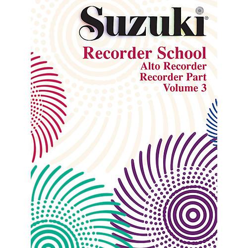 Alfred Suzuki Recorder School (Alto Recorder) Recorder Part Volume 3