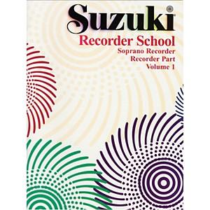 Alfred Suzuki Recorder School Soprano Recorder Recorder Part Volume 1 by Alfred