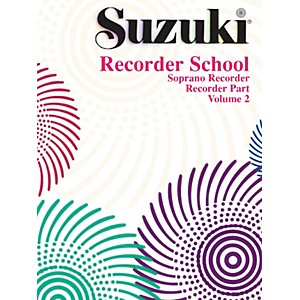 Alfred Suzuki Recorder School Soprano Recorder Recorder Part Volume 2 by Alfred