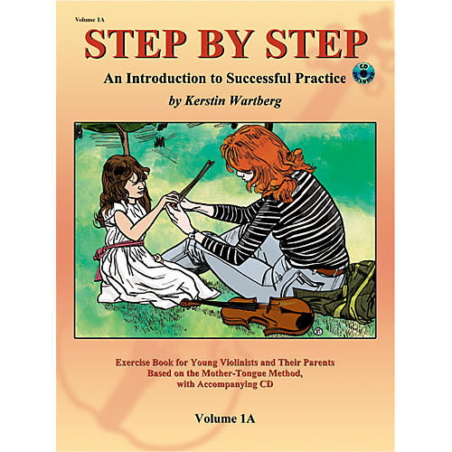 Alfred Suzuki Step by Step 1A: An Introduction to Successful Practice for Violin Book/CD-thumbnail