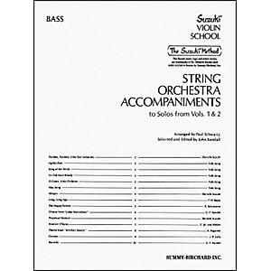 Alfred Suzuki String Orchestra Accompaniments, Bass Book