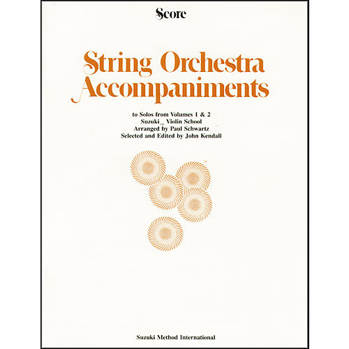 Alfred Suzuki String Orchestra Accompaniments to Solos from Volumes 1 & 2 for Violin 1-thumbnail