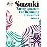 Alfred Suzuki String Quartets for Beginning Ensembles Volume 1 (Book)