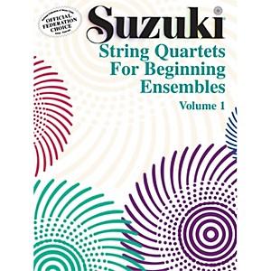 Alfred Suzuki String Quartets for Beginning Ensembles Volume 1 Book by Alfred