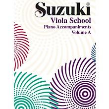 Alfred Suzuki Viola School Piano Accompaniment, Volume A (contains Volumes 1 & 2) Textbook
