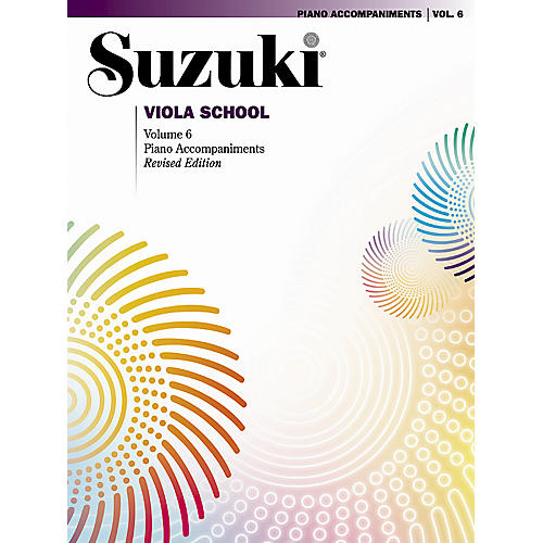 Alfred Suzuki Viola School Piano Accompaniments-thumbnail