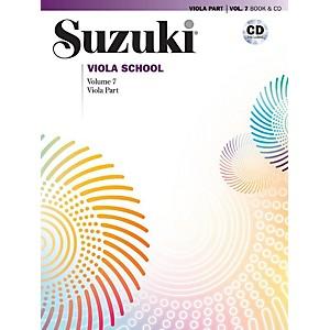Alfred Suzuki Viola School Viola Part and CD - Volume 7 Book and CD by Alfred