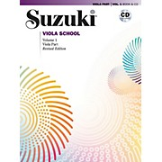 Alfred Suzuki Viola School Viola Part & CD Volume 1 (Revised)