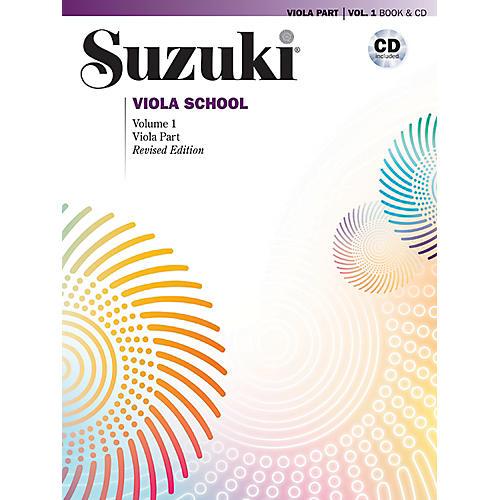 Alfred Suzuki Viola School Viola Part & CD Volume 1 (Revised)