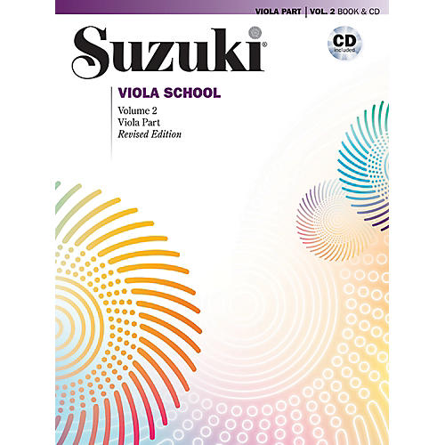 Alfred Suzuki Viola School Viola Part & CD Volume 2 (Revised)-thumbnail