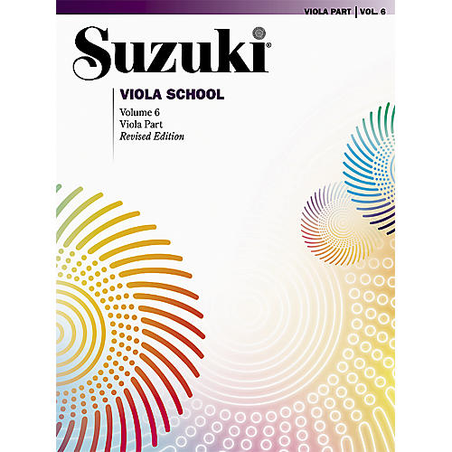 Alfred Suzuki Viola School Viola Part, Volume 6 Book-thumbnail