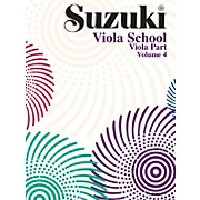 Alfred Suzuki Viola School Volume 4 (Book)