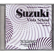 Alfred Suzuki Viola School Volumes 3 & 4 (CD)