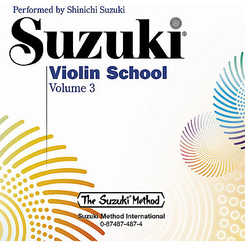 Alfred Suzuki Violin School CD, Volume 3-thumbnail