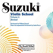 Alfred Suzuki Violin School CD Volume 6 Revised