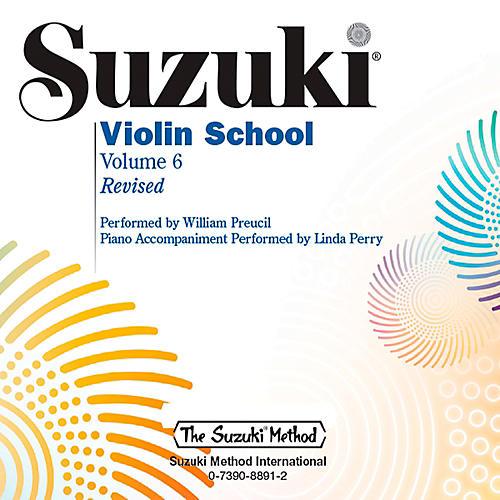 Alfred Suzuki Violin School CD Volume 6 Revised-thumbnail